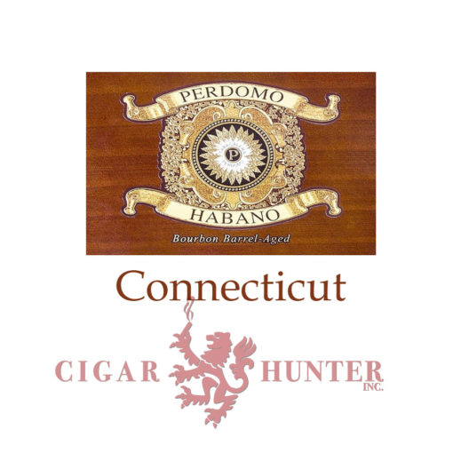 Perdomo Habano Bourbon Barrel-Aged Connecticut Churchill